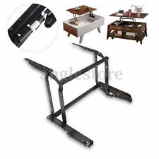 Coffee Table Lift Top DIY Hardware Fitting Furniture Mechanism Hinge Frame Black