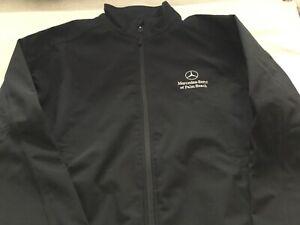 Mercedes-Benz of Palm Beach Jacket colour black size large mans full zip