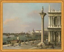 Bacino di S. Marco: From the Piazzetta Giovanni Canal Venedig Italien B A1 02082