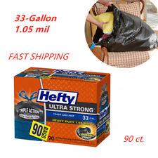 Hefty Ultra Strong 33-Gallon Trash Bags (90 ct.)Heavy-duty 1.05 mil construction