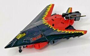 Transformers 1995 G2 Cyberjets SKYJACK Red & Black Plane Jet Autobot Figure