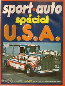 SPORT AUTO 182 1977 24H DAYTONA RALLYE SUEDE ESSAI RALLYE 2 R5 ALPINE GOLF GTI