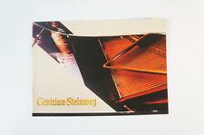 Grotrian Steinweg pianoforte prospetto pianoforte prospetti 1960 70er catalogo annuale b5286