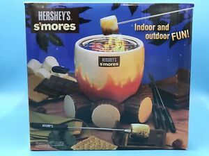 Hershey's Smores Maker Indoor Outdoor Roast Marshmallow Campfire NEW FREE SHIP
