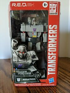 "Transformers R.E.D. 2020 Megatron 6"" Action Figure  Hasbro Red New Sealed"