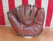 Vintage 1950s JC Higgins Leather Baseball Glove Fielders Mitt Sid Gordon Model
