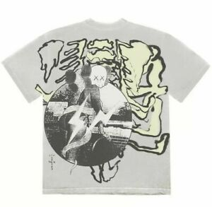 KAWS x Fragment x Travis Scott CACTUS JACK T-Shirt - Large L - Ships Today 🌵