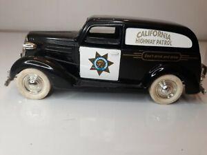 Liberty Classics 1937 Chevy California Highway Patrol Die Cast