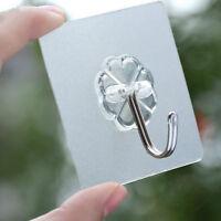5Xload Bearing 10Kg Seamless Adhesive Hook Strong Stick Hook Kitchen Hanger UO