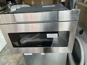 NIB Sharp 24 inch 1.2 cu. ft Hidden Controls Microwave Drawer Oven SMD2470AS