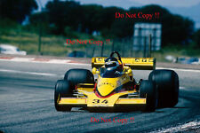 Jean-PIERRE JARIER ATS RACING Penske pc4 Gran Premio di Spagna 1977 fotografia 1