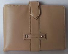 VINTAGE Napa Leather Tan WALLET & PASSPORT Red Envelope Co NEW w/ PAPERWORK