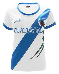 Guatemala Women Soccer Jersey New With out Tags Color White