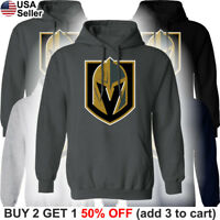 Las Vegas Golden Knights Hooded Sweatshirt Logo Sweater Shirt Hoodie Men LV