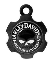 Harley-Davidson Motorcycles Black Willie G Skull Axel Skull Ride Bell HRB099