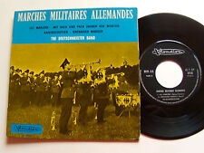 """THE DEUTSCHMEISTER BAND: marches militaires allemandes 7"""" EP 1970 French VI 256"""