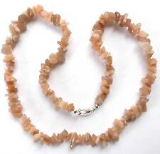 """**BEAUTIFUL MOONSTONE CHIP 20"""" NECKLACE**"""