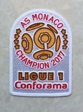 AS MONACO 2017 Champion LIGUE 1 Conforama Patch Badge Pièce Flicken Parche