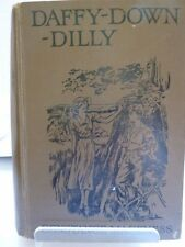 DAFFY-DOWN-DILLY by CONSTANCE MACKNESS 1937 ILLUSTRATED