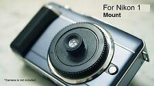 28mm Lens Body Cap FOR Nikon 1 J1 J2 J3 J4 V1 V2 V3 S1 camera CX Holga Pinhole