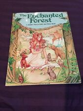 The Enchanted Forest Hidden Picture Color and Story Book Jodell Abrams 1981