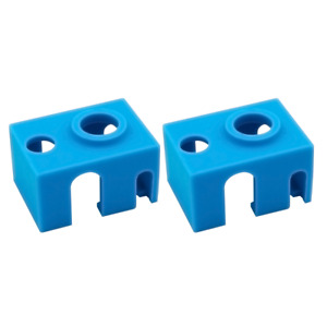 2pcs CheckReality 3D V6 Hot End Silicone Sock Insulation Upgrade Prusa MK3S MK3