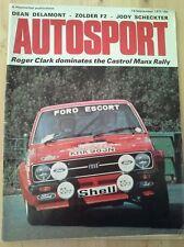 Autosport September 18th 1975 *Castrol Manx Rally*