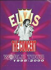PROGRAMME DE TOURNEE ELVIS PRESLEY- WORLD TOUR 1998/2000 -TCB BAND-SHOW VIRTUEL