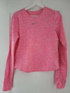 Women's Nike Size Medium Florescent Pink Base Layer