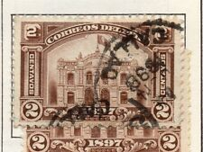 Peru 1895-1902 Early Issue Fine Used 2c. 182270