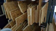 OSB Reste Zuschnitt ab6,90€/qm Grobspanplatte Verlegeplatte Holzplatte 10 - 25mm