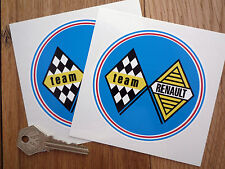 RENAULT TEAM RACING Rally Auto Adesivo 5 ALPINE TURBO