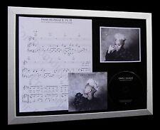 EMELI SANDE Read All About It, PT 3 LTD CD MUSIC FRAMED DISPLAY+FAST GLOBAL SHIP