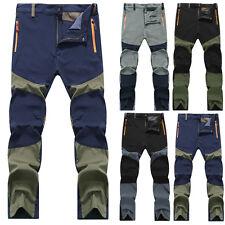 Hombre Elegante Exterior Senderismo Alpinismo Pantalón Militar Pantalones