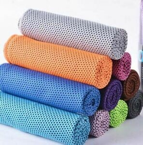 Sports Training Fast Dry Cooling Towels Gym Outdoor Training Activities Towels