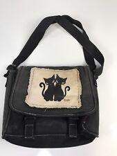 Emily The Strange Canvas Messenger Book Bag Out Of Print Rare