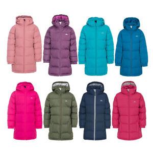 Girls Trespass Tiffy Puffa Padded Quilted School Coat | Kids Jacket