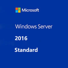 WINDOWS SERVER 2016 STANDARD 64-BIT PRODUCT LICENSE GENUINE KEY