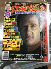 Starlog Magazine Nov 2002 #304 Star Trek Nemesis