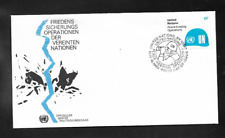 United Nations NY 1980 PEACE-KEEPING OPERATIONS First Day Cover