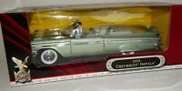 Road Signature 1959 Chevy Impala Green Convertible 1:18 Scale Diecast Model Car