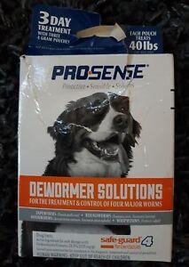 ProSense  4 gram  Dewormer  For Dog Damaged box