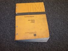 John Deere 644B Wheel Loader Shop Service Repair Technical Manual Guide TM1095