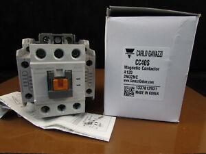 CARLO GAVAZZI CC40S Magnetic Contactor