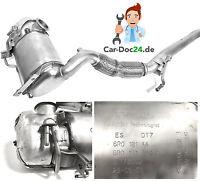 ORIGINAL Dieselpartikelfilter DPF Audi VW Skoda 1,6 TDI, 75 90 105 PS