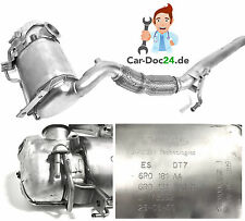 Original Diesel Particle Filter DPF Audi VW Skoda 1,6 Tdi, 75 90 105 HP