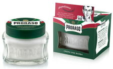Proraso Italy pre Shave Cream Green 100ml With Eucalyptus-öl & Menthol Natural