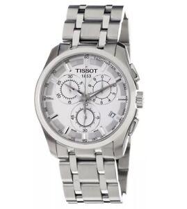 Tissot T Classic Couturier Chrono Men's Watch T035.617.11.031.00. T035617110300