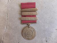 1931 US Navy Named Good Conduct Medal 3 Place Award Bars