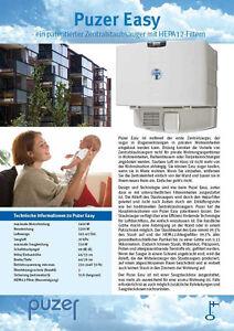 Zentralstaubsauger ohne Montage, für Wohnungen, HEPA Filter ! 12m Reichweite TOP